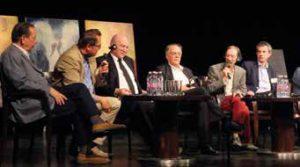 von links nach rechts: Michael Kaiser, Andreas Bracher, Franz-Jürgen Römmeler, Thomas Meyer, Zoltan Döbröntei, Attila Ertsey